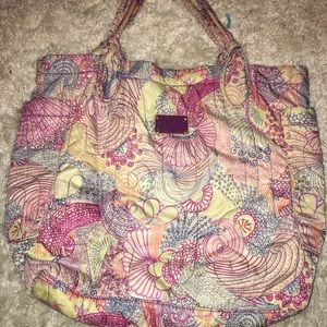 Marc by Marc Jacobs large quilted nylon tote bag